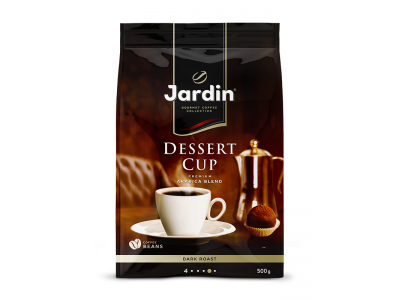 Кофе в зернах Jardin Dessert Cup (Жардин Дессерт Кап), 500г