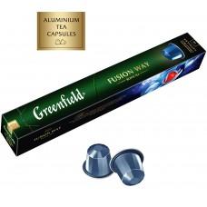 Чай в капсулах Nespresso Greenfield Fusion Way (Гринфилд Фьюжн Вэй), 10*2,5 г